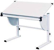 Link Schreibtisch Cetrix weiß/weiß  (51040450)
