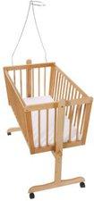 Easy Baby Wiege 180 inkl. Matratze und Himmelhalter natur  (180-11)