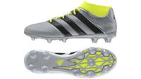 Adidas Ace 16.2 Primemesh FG/AG Men silver metallic/core black/solar yellow