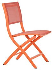 Diamond Garden Kingston Klappstuhl neon orange