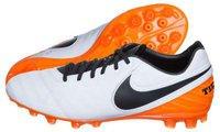 Nike Tiempo Legacy II AG-R white/black/total orange