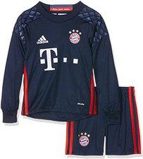 Adidas FC Bayern Torwart-Mini-Kit 2016/17 heim