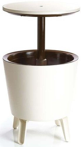 Keter Cool Bar Partytisch creme/braun