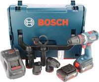 Bosch GSR 18 V-EC FC2 mit 2 x 6,0 Ah in L-Boxx