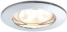 Paulmann Einbauleuchte LED Coin klar rund 7W Chrom dimmbar