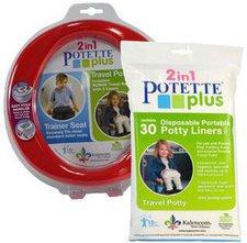 Potette Plus Reisetöpfchen + 30er Pack Einlegetüten