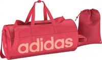 Adidas Women Linear Performance Teambag M shock red/shock red/sun glow