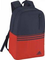 Adidas Versatile 3S Backpack collegiate navy/bold orange/collegiate navy