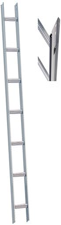 layher 15 Sprossen, Nussbraun (1051215)