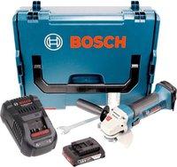 Bosch GWS 18-125 V-LI Professional (1 x 2,0 Ah in L-Boxx)