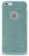 Puro Glitter Shine Cover aquamarine (iPhone 6/6S)