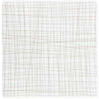 Rosenthal Mesh Teller quadr. line walnut 22 cm