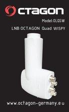 Octagon OLQSW Quad LNB Wispy 0.1dB