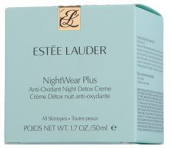 Estee Lauder NightWear Plus Anti-Oxidant Night Detox Creme (50ml)