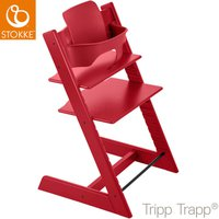 Stokke Tripp Trapp incl. Babyset Red