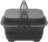 Outwell Collaps Spülschüssel mit Deckel schwarz