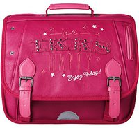 IKKS Girl's Be Happy School Bag Pink (38cm)