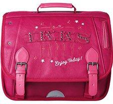 IKKS Girl's Be Happy School Bag Pink (38cm)