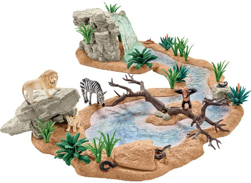 Schleich Wild Life Große Abenteuer Wasserstelle ( 42321)