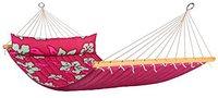 La Siesta Doppelstabhängematte Hawaii hibiscus