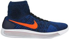 Nike LunarEpic Flyknit black/total crimson-racer blue