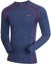 Bergans 1964 Fjellrapp Shirt Men navy melange / red