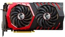 MSI GeForce GTX 1070 Gaming Z 8192MB GDDR5