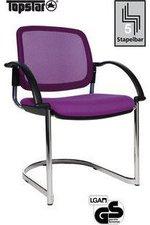 Topstar Open Chair 30 mit Armlehnen (lila)