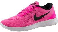 Nike Free RN Wmn pink blast/fire pink/white/black