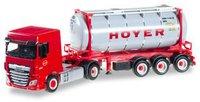 Herpa DAF XF SC Euro 6 Chemietankcontainer-Sattelzug HOYER (306072)
