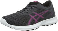 Asics NitroFuze Women dark steel/pink glow/black