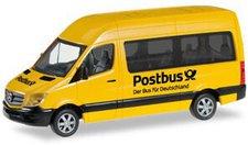 Herpa Mercedes-Benz Sprinter 2013 Bus Hochdach Postbus (092531)