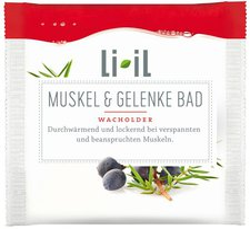 Li IL Muskel und Gelenke Wacholderbad (60 g)