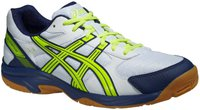 Asics Gel-Visioncourt white/flash yellow/navy