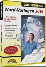 Markt+Technik Word Vorlagen 2016 Gold Edition