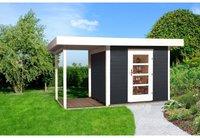 weka Holzbau Designhaus 172 A Gr. 2 anthrazit (385 x 300 cm)