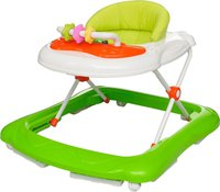vidaXL Babywalker Lauflernhilfe Gehfrei - grün