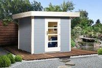 weka Holzbau Designhaus 172 Gr. 2 grau (235 x 300 cm)