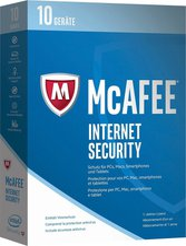 McAfee Internet Security 2017 (10 Geräte) (1 Jahr)