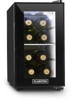 Klarstein Beerlocker S Mini-Kühlschrank 21 Liter Klasse A+ schwarz