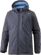 CMP Campagnolo Man Softshell Jacket Zip Hood (3A40537) Antracite/River
