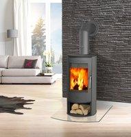 Fireplace Zanzibar Stahl
