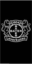 Bertels Handtuch Logo Bayer 04 Leverkusen (50x100cm)