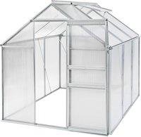TecTake Gewächshaus 5,7 m² HKP 4 mm