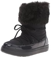 Crocs Women's LodgePoint Lace Boot black
