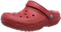 Crocs Classic Fuzz Lined Clog pepper/oatmeal