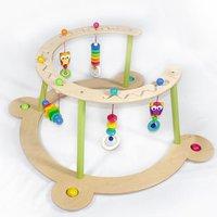 Hess Spielzeug Babyspiel- und Lauflerngerät Eule