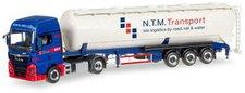 Herpa MAN TGX XXL Silo-Sattelzug NTM (NL) (305471)