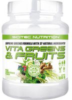 Scitec Nutrition Vita Greens & Fruits 600g