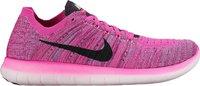Nike Free RN Flyknit W fire pink/black/peach cream/pink blast